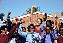 Melissa Michaels (ELC '06) recently returned from working in Uganda and South Africa with highly diverse groups of people dedicated to building bridges and a sustainable future across divides of all kinds.