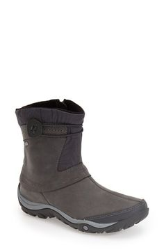 Merrell 'Dewbrook' Waterproof Leather Boot (Women) available at #Nordstrom