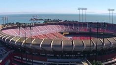 Drone view - Candlestick Park - History and Demolition