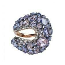 Sapphire ring by Etho Maria