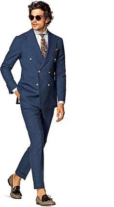 Suit_Blue_Plain_Madison_P4206BI @suitsupply
