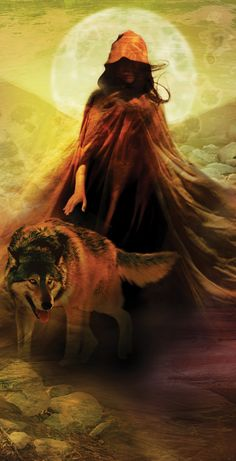 "Wolf and Flame ""The people who consider you weak have not yet noticed the wolf hiding behind your eyes, nor the flames inside your soul. Let them think you are weak and do what wolves and fire do best. Surprise them when they least expect it."" ~Nikita Gill -art by Cliff Nielsen fantasy art"