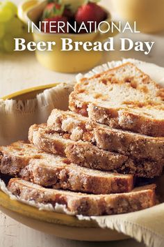 International Beer Bread Day Blog | Beer bread recipes worthy to celebrate International Beer Bread Day with!
