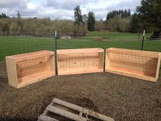 4' and 5' Sloped Panel Goat Feeders