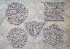 Free Circular Shawl Knitting Cheat Sheet – Laylock Knitwear Design - Knitting Shawl Shapes in the round.