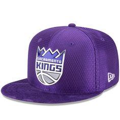 Men s New Era Purple Sacramento Kings NBA On-Court Original Fit 9FIFTY  Adjustable Hat 588309e60ef