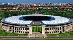 Venue for the 2014-15 Champions League Final, Berlin, May 2015.