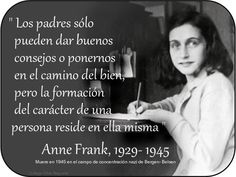 Mujeres Famosas: Anna Frank - Citas
