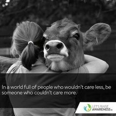 Be someone who couldn't care more!!!