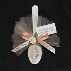 """24 Personalized Favors """"Spoonful of Kisses"""" for Wedding, Rehearsal Dinner, Anniversary or Bridal Shower Wedding Shower Favors, Bridal Shower Games, Bridal Shower Decorations, Bridal Shower Invitations, Diy Wedding, Bridal Brunch Favors, Wedding Dress, Fall Wedding, Party Invitations"""