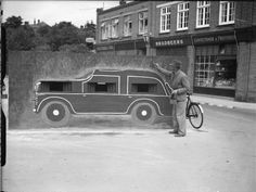 Pillbox camouflaged as a car in Felixstowe, 24 August 1940.