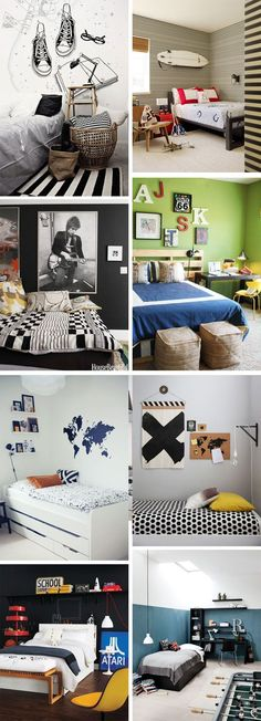 Ideas & Inspiration: Teenage Boys Rooms | Home Remodel Note