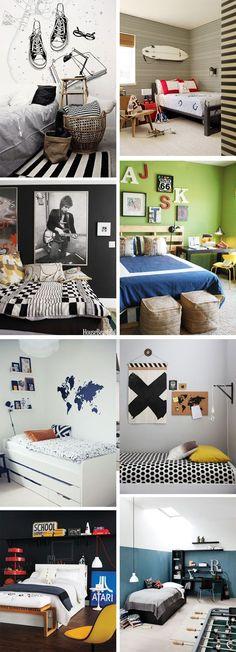 Ideas & Inspiration: Teenage Boys Rooms