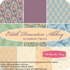 Edith Downton Abbey Fat Quarter Bundle Andover Fabrics - Fat Quarter Shop.......  UBER SQUEEEEEEEE!!!!