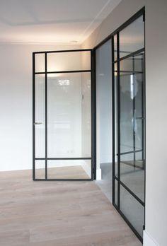 Interior Exterior, Home Interior, Interior Architecture, Interior Design, Aluminium Doors, Door Design, House Design, Steel Doors And Windows, Windows