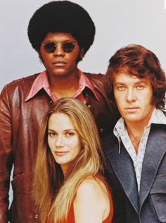 """Pete, Link, & Julie""  The Mod Squad  Clarence Williams III, Peggy Lipton, Michael Cole"