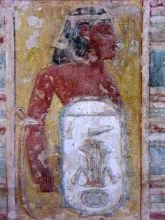 Tomb of Kheruef (TT192), reign of Amenhotep III and Akhenaten: bound captive from Lower Egypt © OSIRISNET.NET