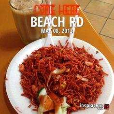 Mee goreng from Beach Rd