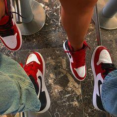 Jordan Shoes Girls, Girls Shoes, Air Jordan Shoes, Sneakers Mode, Sneakers Fashion, Nike Fashion, Fashion Shoes, Streetwear Fashion, Matching Shoes For Couples