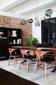 Стильный семейный лофт в Нью-Йорке | Пуфик - блог о дизайне интерьера