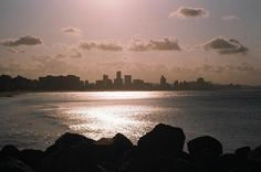 The skyline of Durban taken from the Bluff      - Awesome South Africa. Think about Immigration to South Africa
