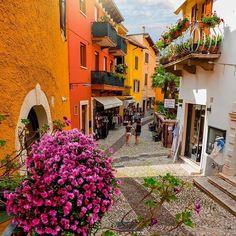 Malcesine, Lago di Garda. Italy. #ItalyVacation