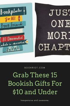 Great bookish gifts