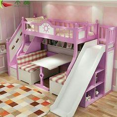 Mary's favourite room Kids Bedroom Designs, Room Design Bedroom, Room Ideas Bedroom, Home Room Design, Kids Room Design, Bedroom Decor, Bed For Girls Room, Little Girl Rooms, Girls Bedroom