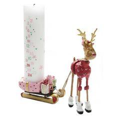 Rudolf med kælk, kalenderstage - Medusa-Copenhagen - Mærker