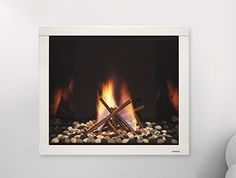 LUX Series Stainless Steel Gas Fireplace | Heat & Glo