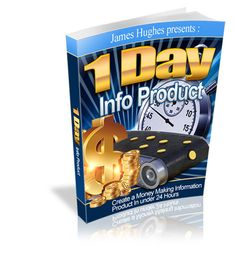 If you could create an e-book to sell in one day, how many of these little goldmines would you make? 365 e-books each valued at least 27 dollars? Let James Hughes show you how to create a profit-pounding e-book in under 24 hours: http://www.internetmasterycenter.com/products/1dip.html