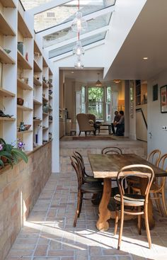 Vintage Interior Design Gallery House,© Tim Crocker - Image 25 of 37 from gallery of Gallery House / Neil Dusheiko Architects. Photograph by Tim Crocker House Design, House, Home, Victorian Homes, Interior Design Kitchen, New Homes, House Extension Design, Interior Design, Victorian Terrace
