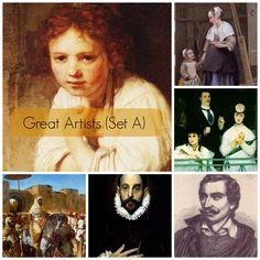 Great Artists (Set A)