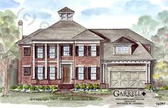 Garrell Associates, Inc.Southcrest House Plan 06297,Traditional Style House Plans, Design by Michael W. Garrell
