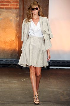 christian siriano ss12. My favorite designer. Love this casual but sophisticated look.