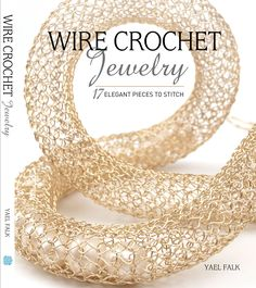 My book ;) New Wire Crochet Jewelry: 17 Elegant Invisible Spool Knitting Designs available in many libraries in the US, @michaelsstores , @barnesandnoble , more bookstores and online ! #craftbook #wirecrochetbook #jewelrymaking #MakeItWithMichaels #barnesandnoble #amazon Crochet Jewelry Patterns, Easy Crochet Patterns, Crochet Accessories, Crochet Designs, Knitting Designs, Wire Crochet, Knit Crochet, Crochet Wire Jewelry, Crochet Style