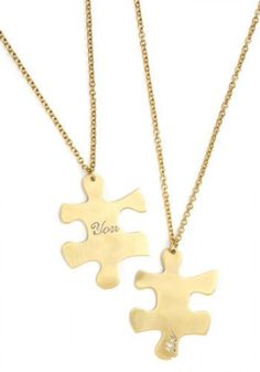 """BFF Necklace: """"I mean, obviously we are all about the BFF at @HelloGiggles. Remember when these necklaces were a thing? Because I do! I loved them and only my real BFF would ever have the matching piece. I say we bring back the BFF necklace and show our friends some love like we used to!"""" - Tatti Ribeiro"""