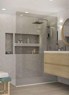 f96bfb83d2eb Idée décoration Salle de bain Pied à terre chic et moderne rénovation  appartement canut Lyon 04