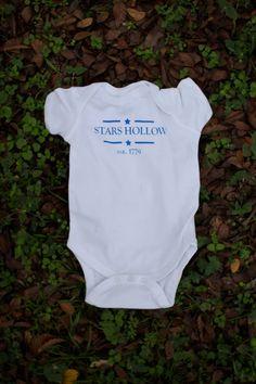 Stars Hollow Baby Bodysuit