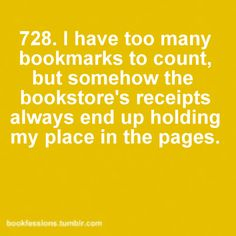 or the library receipts and I have used quite few receipts from the shopping as well.