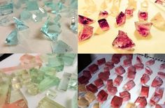 Looking for a neat summer treat? Why not make some beautiful, edible jewels?【Recipe】
