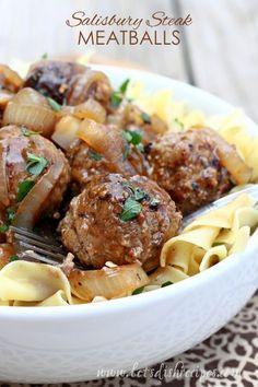 Salisbury Steak Meatballs Recipe