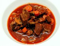 Slow Cooker Beef Bourguignon - Select the picture to view other beef slow cooker recipes