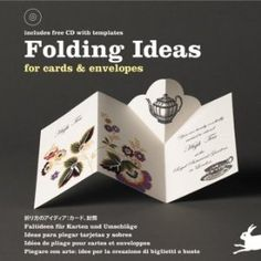 folding ideas for cards and envelopes - book - includes CD w/ templates - I want this book!!!!