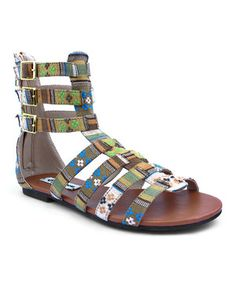 Look at this #zulilyfind! Tribal Sonia Cage Sandal by Groove Footwear #zulilyfinds
