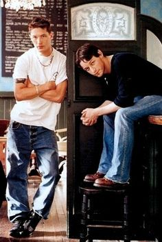 Tom Hardy and James Mcavoy  | Vogue List - 2004 - The Brit Boys | they did a very good job of predicting successful careers