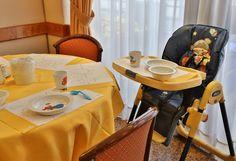 """Il BEST WESTERN Hotel President di Roma è uno degli hotel Kids BW. Per iniziare bene la giornata ci sono tante sorprese per i piccoli ospiti come coloratissimi piattini e tovagliette, i confortevoli seggioloni e il """"Menù Bimbi"""". Scopri tutti gli altri servizi degli #hotel #kids Best Western Italia. #bambini #vacanze"""