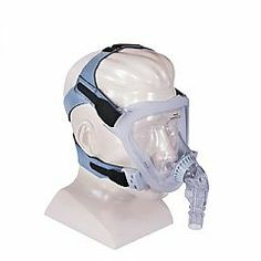 """The Philips Respironics FitLife """"Total"""" face CPAP mask provides a solution for those who have trouble wearing conventional full face CPAP masks. Facial hair, dentures, nasal bridge breakdown, facial irregularities, and claustrophobia are issues that can greatly impact the ability to establish effective therapy and comfort. The Philips Respironics FitLife CPAP mask offers a solution for men and women facing these challenges."""