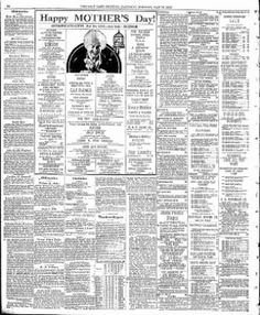 The Salt Lake Tribune from Salt Lake City, Utah · Page 39 Luke Shaw's obituary-  Mr. Shaw died in a local hospital Thursday of heart trouble. He was born In England and had lived In Salt, Lake for 25 years. His widow, Mrs. Lilly Show of Salt Lake, survive*.