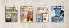 Diseño de banners ebooks Camilla Läckberg y otros autores | Dolphin Tecnologías